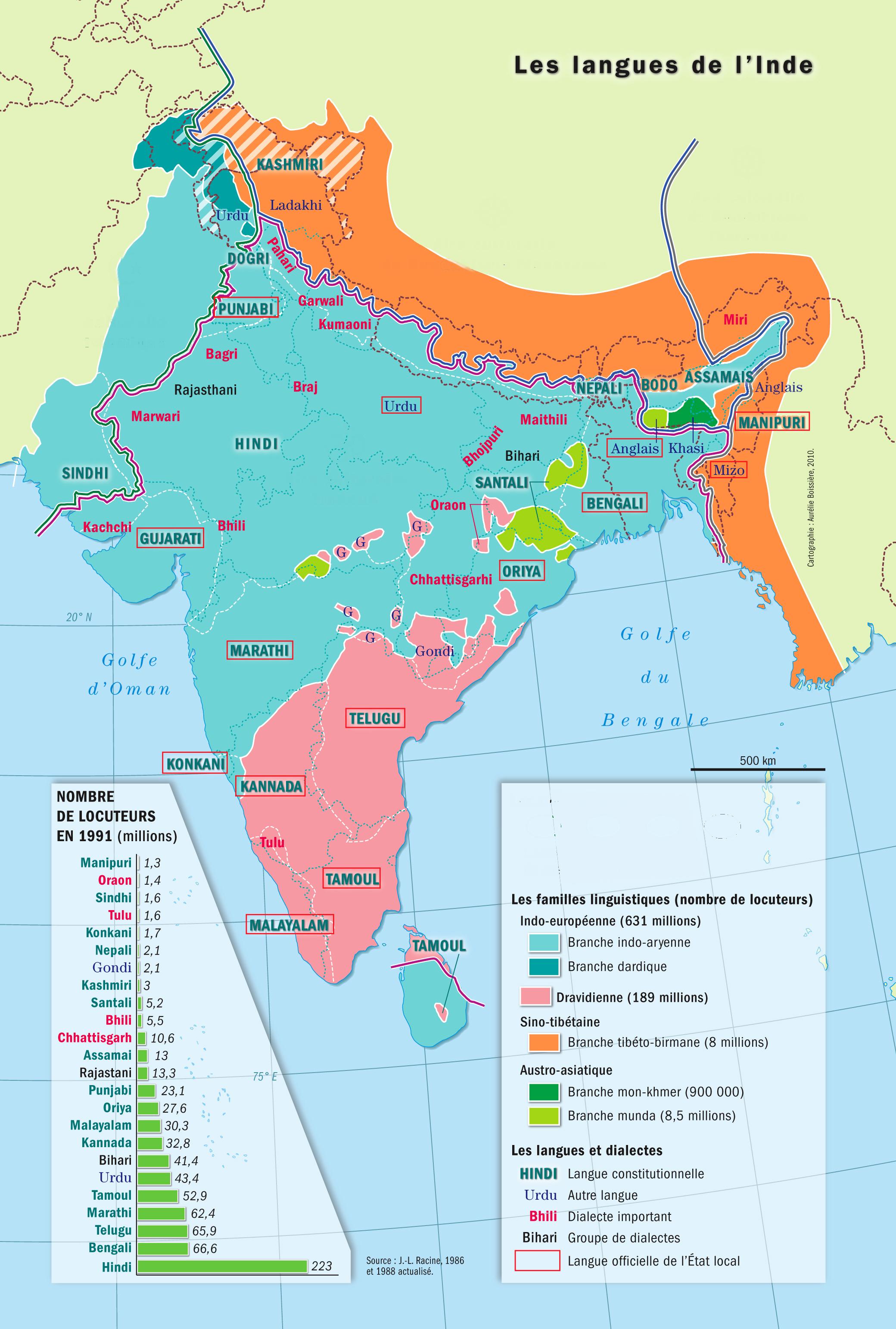 carte de l inde à imprimer Imprimer : Language, education and culture