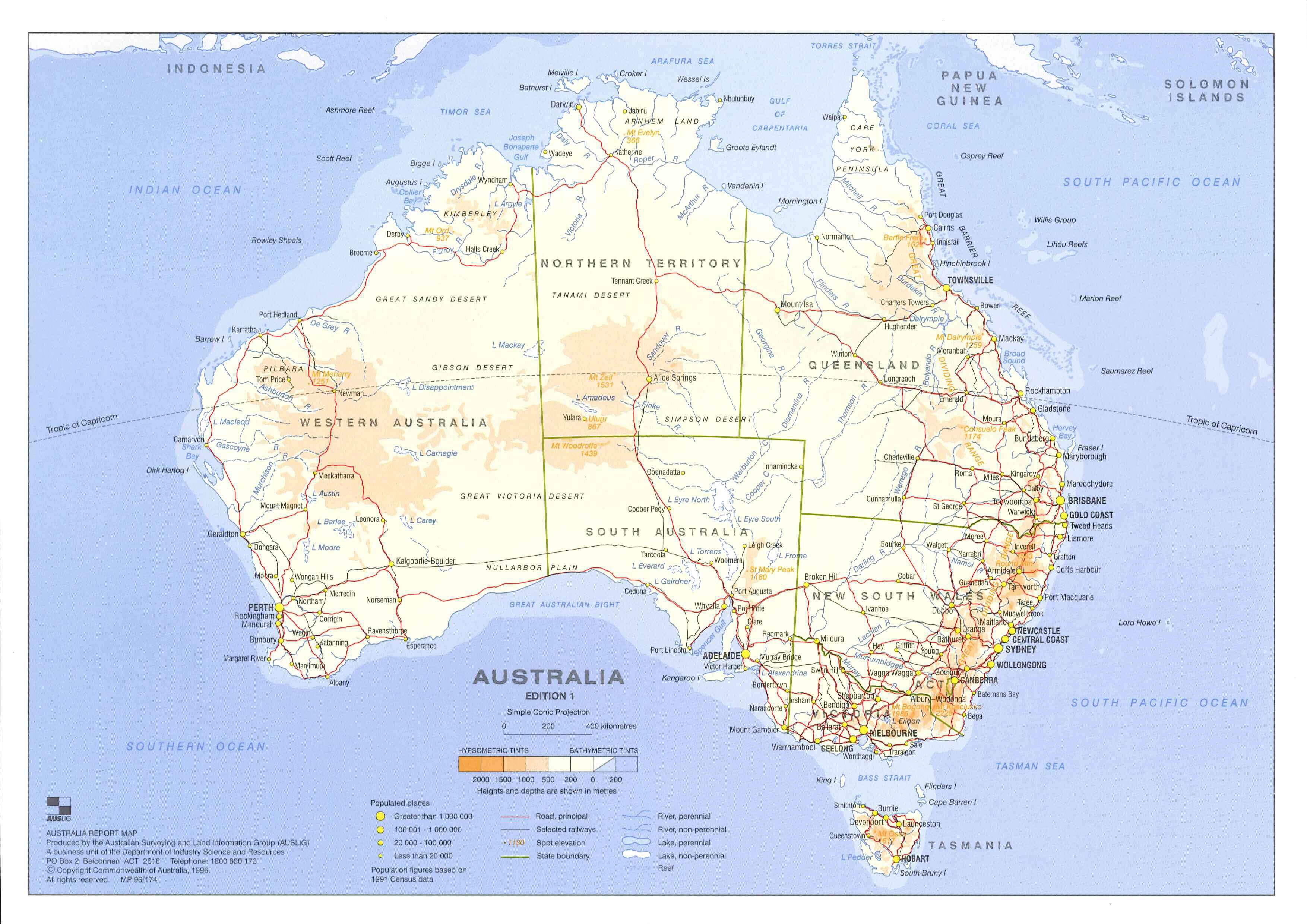 Carte Australie Du Sud Est.Australie Programme De Recherche Sogip Echelles De